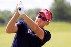 法国高尔夫球的伊恩・保尔特打开2013年 库存照片