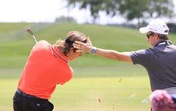 法国高尔夫球的罗迈因Wattel打开2013年 库存照片