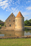 法国,伊夫林省:城堡-大别墅de维利埃斯leMahieu 免版税图库摄影