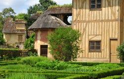 法国,在凡尔赛Pa parc的玛丽・安托瓦内特庄园 免版税库存照片