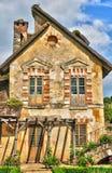 法国,在凡尔赛Pa parc的玛丽・安托瓦内特庄园 图库摄影