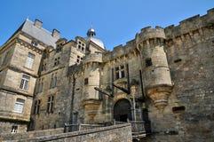 法国,奥泰福尔城堡在多尔多涅省 库存照片