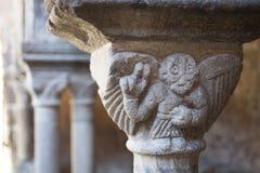 法国,奥韦涅,拉沃迪厄村庄,修道院 库存图片