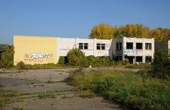 法国,工业荒原在莱米罗 库存照片