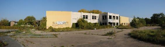 法国,工业荒原在莱米罗 免版税图库摄影