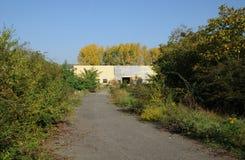 法国,工业荒原在莱米罗 库存图片