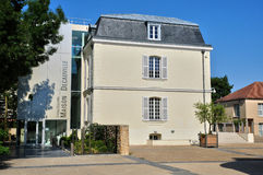 法国,市Voisins le Bretonneux 库存图片