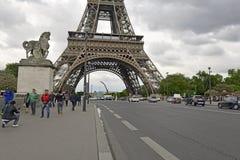 巴黎法国,最近站点多次恐怖袭击 图库摄影