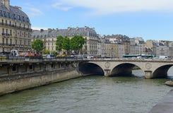 巴黎法国,最近站点多次恐怖袭击 免版税库存图片