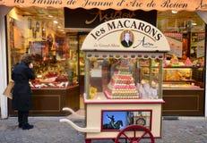 法国,美丽如画的市鲁昂在Normandie 图库摄影