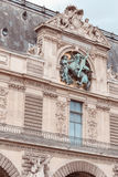 法国,巴黎- 2011年6月17日:罗浮宫 免版税库存图片