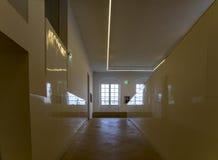 法国,巴黎:2017年8月5日:毕加索博物馆内部空间 图库摄影