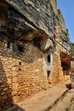 法国, Abri de la马德琳全土栖的站点在Tursac 库存图片