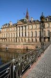 法国, Bas Rhin, Le Palais Rohan在史特拉斯堡 免版税库存图片