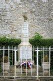 法国, Cherence村庄在Val d瓦兹省 免版税库存图片