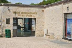 法国, Guiry en Vexin村庄在Val d瓦兹省 免版税图库摄影
