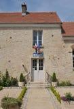 法国, Guiry en Vexin村庄在Val d瓦兹省 图库摄影