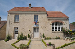 法国, Guiry en Vexin村庄在Val d瓦兹省 免版税库存照片