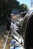 法国20世纪30年代赛车前面细节4 库存图片