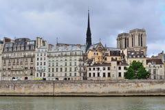 法国巴黎 援引海岛 免版税图库摄影