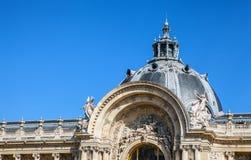 巴黎-法国- 2015年8月30日:著名盛大Palais大宫殿在巴黎 免版税图库摄影