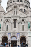巴黎法国- 2012年11月22日:蒙马特教会在巴黎 法国 免版税库存图片