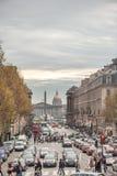 巴黎法国- 2012年11月24日:Royale街在巴黎,法国 免版税库存图片