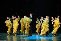 法国黄色罗斯这奥地利的世界舞蹈 免版税库存图片