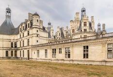 法国 Chambord的类型, 1519 - 1547年 城堡在联合国科教文组织世界遗产名录站点包括 免版税库存图片