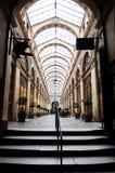 法国galerie巴黎vivienne 免版税库存照片