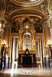 法国garnier歌剧宫殿巴黎 库存图片