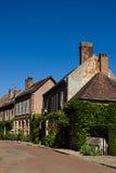 法国gerberoy房子村庄 库存照片