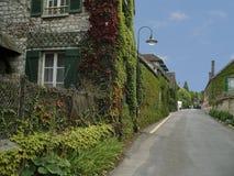 法国giverny monet s村庄 免版税图库摄影