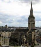 法国gothik 免版税库存图片