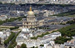 法国invalides les巴黎 图库摄影