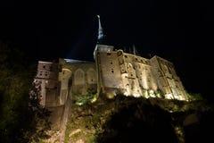 法国le michel mont normandie st 图库摄影
