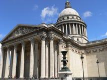 法国le pantheon巴黎 库存图片