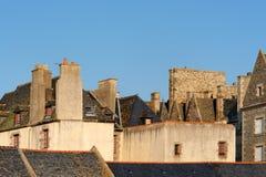 法国malo圣徒 库存照片