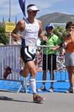 法国marceau olivier triathlete 免版税图库摄影