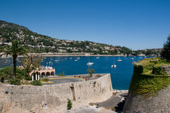 法国mer sur villefranche 免版税库存图片