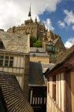 法国michel mont圣徒 免版税图库摄影