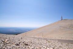 法国mont ventoux 库存照片