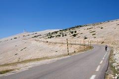 法国mont ventoux 免版税库存图片