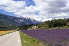 法国mont ventoux 库存图片