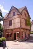 法国streetscene 库存照片