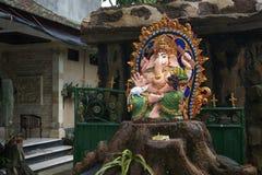 法坛上帝Ganesha,巴厘岛,印度尼西亚 库存照片