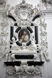 法坛在维尔茨堡大教堂里 免版税库存照片