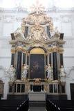 法坛在维尔茨堡大教堂里 图库摄影