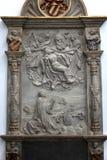 法坛在维尔茨堡大教堂里 库存照片