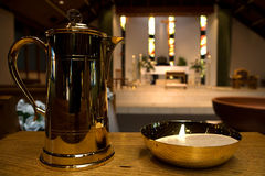 法坛教会装饰品 免版税库存照片